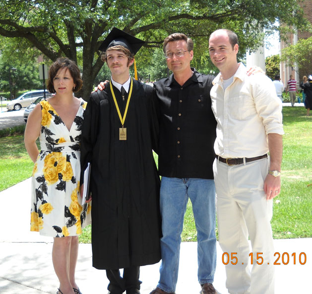 Brad Glasco Graduation 2010